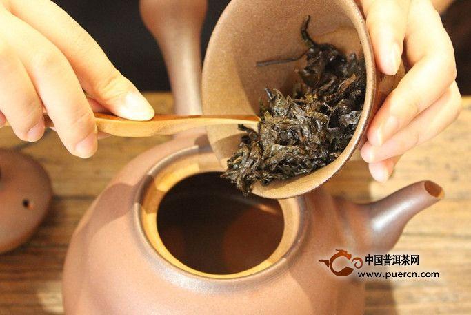 煮黑茶的方法