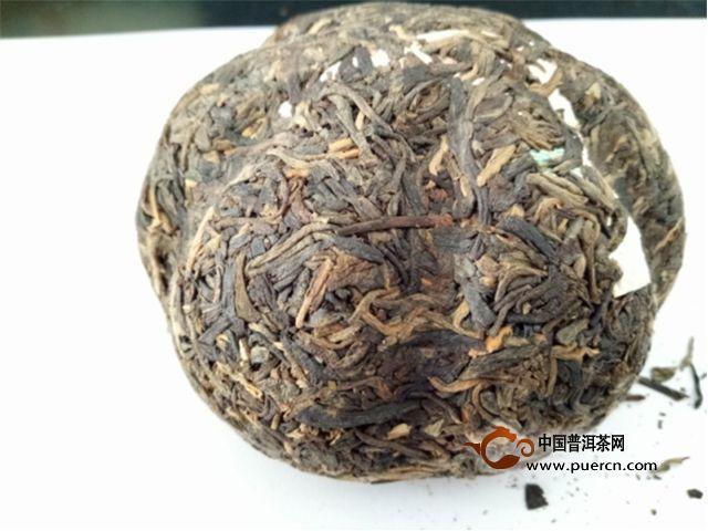 2008年德凤云南德凤金瓜茶生茶250克试用评测报告