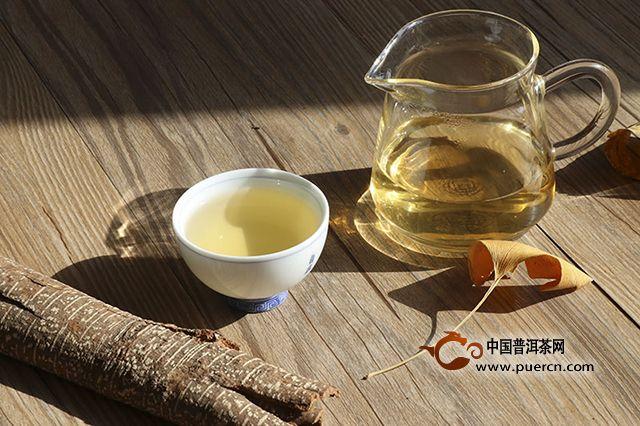 蒲门2018年锦绣古茶:香甜润口,韵味自然