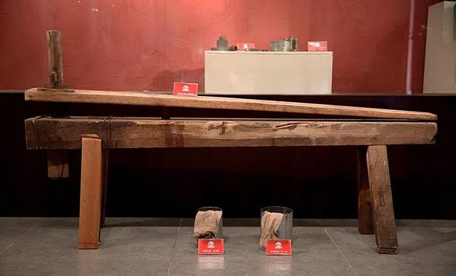 下关沱茶︱【博物馆宝藏】压茶凳