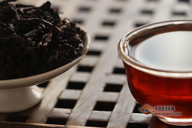 广西梧州六堡茶的功效