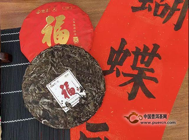 """中茶新品上市 福建福州福地,""""福茶""""""""福饼""""福气"""