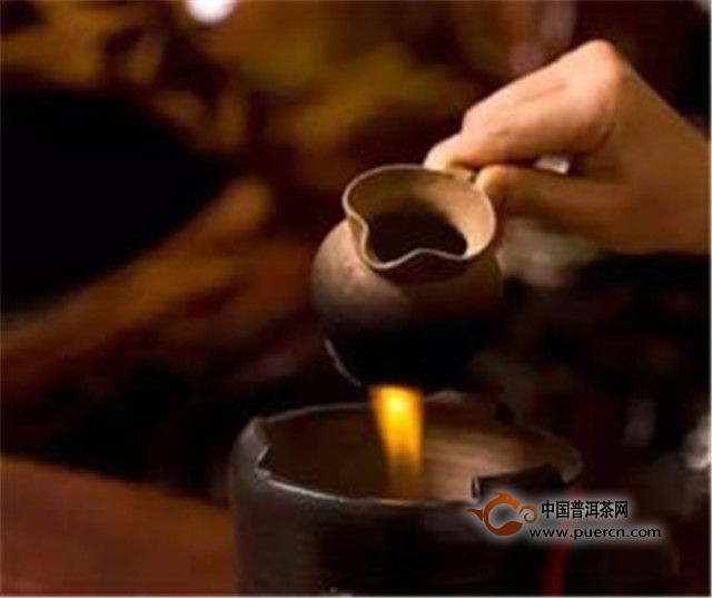 烤茶:彝族的相亲习俗