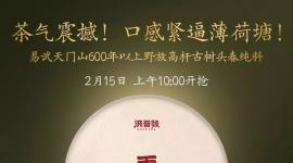 洪普号:【春茶预售】重磅回归!2019年春茶一招制胜的秘密——天门山