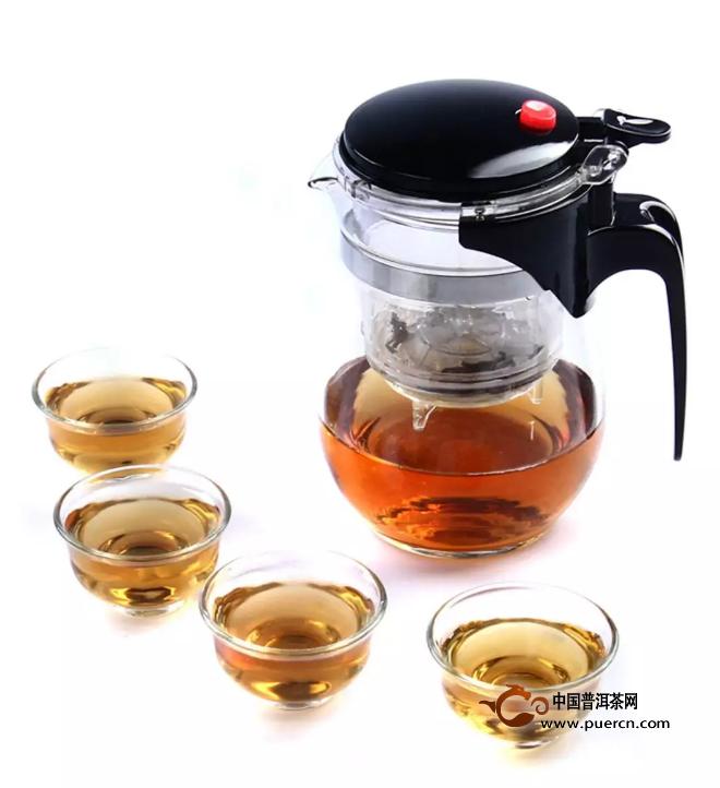 教你用飘逸杯冲泡普洱茶的一些小技巧