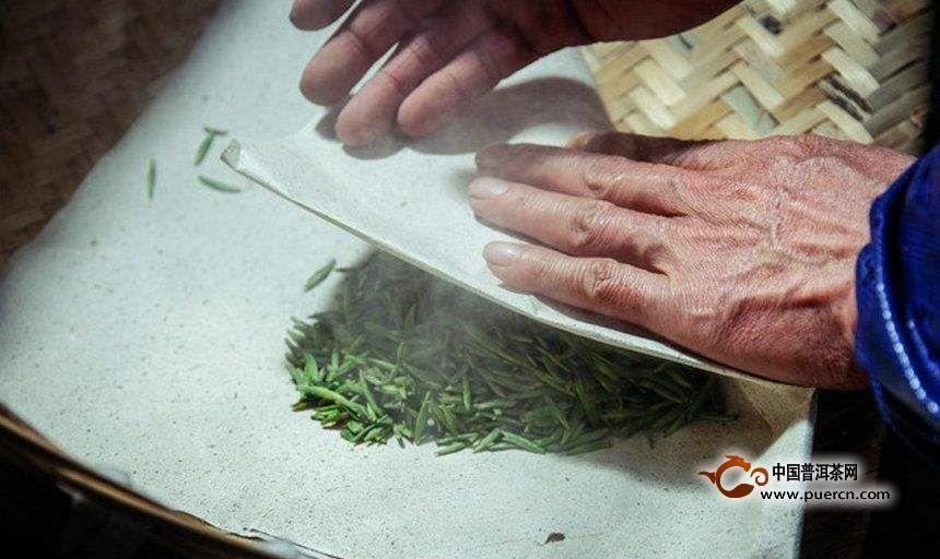 黄茶的八步加工工艺流程