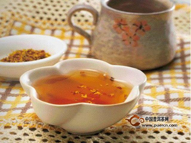干桂花和红茶怎么泡?饮用有什么好处