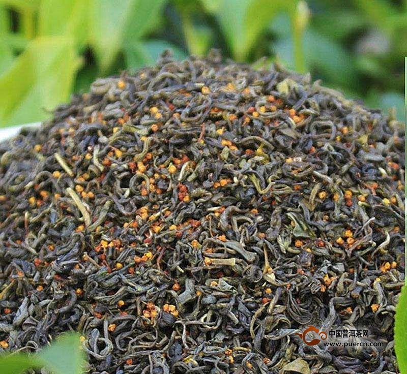 珠兰花茶制作工艺