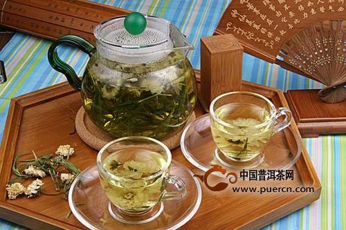 绿茶和菊花能一起泡吗?