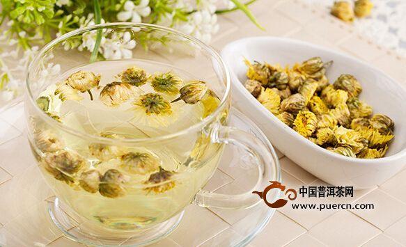 绿茶和菊花一起泡有什么好处