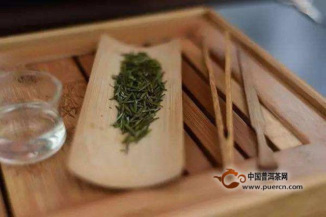 盖碗绿茶泡法