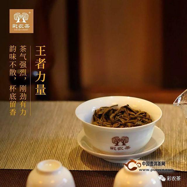 彩农茶:茶之至尊,王者班章