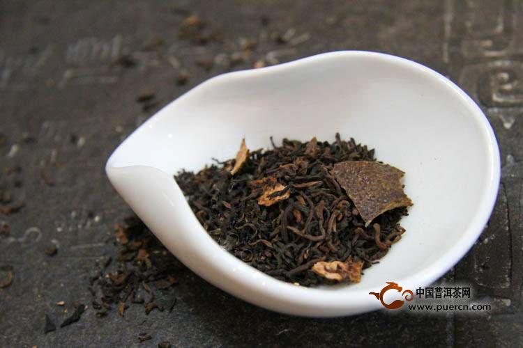 盘点那些新形态的再加工茶|柑普茶篇