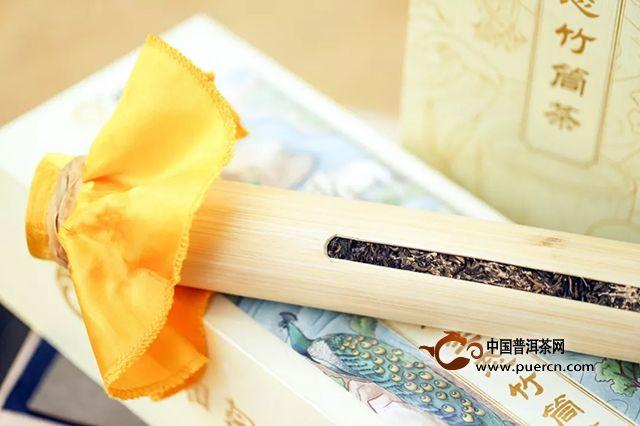 润元昌:新品预告 801云南景迈生态竹筒茶,当茶香妃邂逅竹君子
