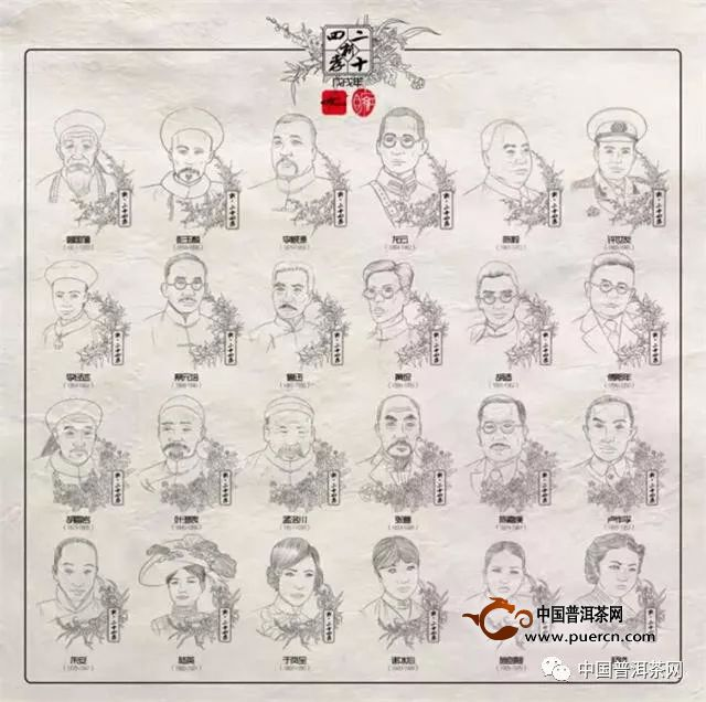 当中国连环画仕女画大师遭遇中国普洱茶少帅