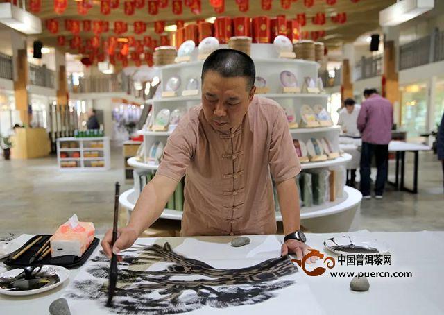 丹青画出是春山|19位书画名家赴勐海采风创作精品共欣赏