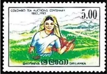 这些来自世界各地的茶叶邮票 ,你有见过吗