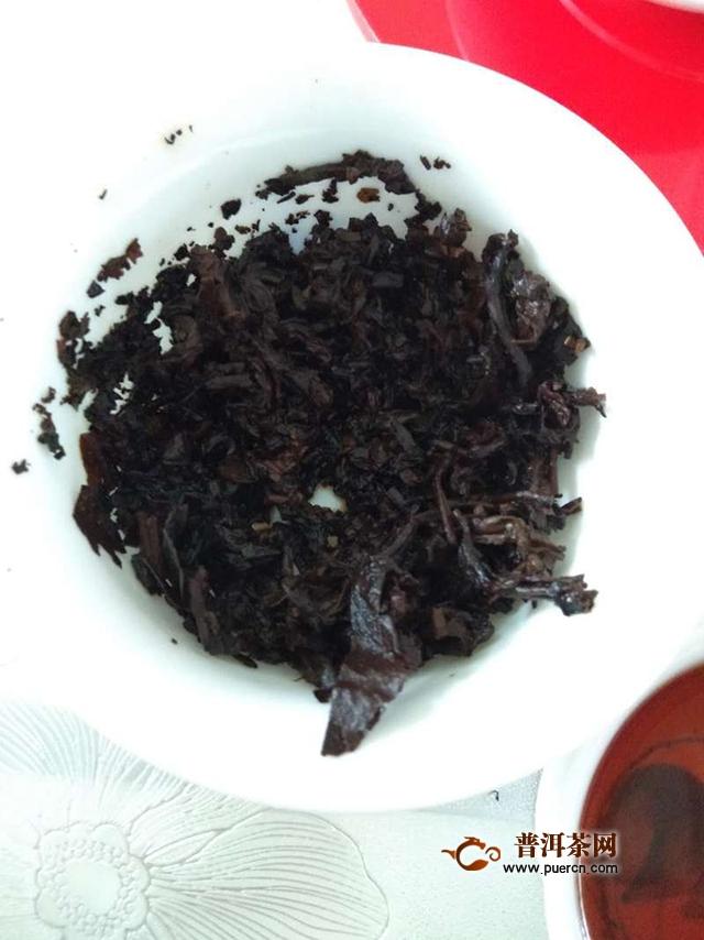 2017年郎河普洱勐海味熟茶试茶报告