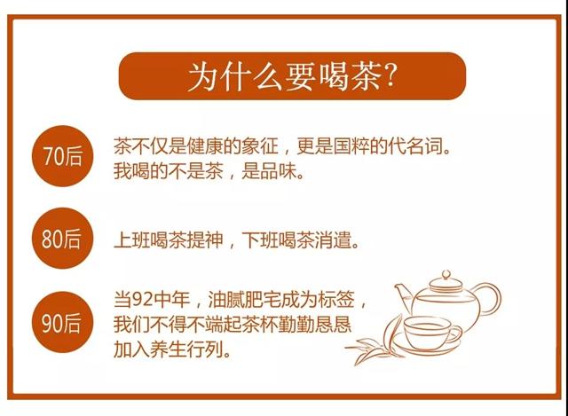 70、80、90后的茶生活,你了解多少?