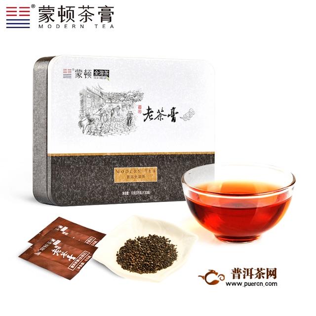 2016年蒙顿茶膏老茶膏熟茶试用报告
