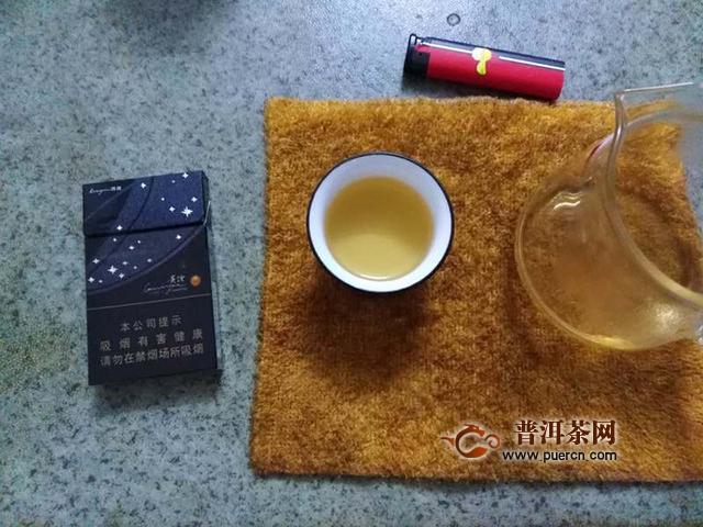 2018年七彩云南牵手号生茶试用报告