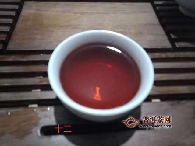 2014年德丰昌 醇厚 熟茶 357克 试用报告