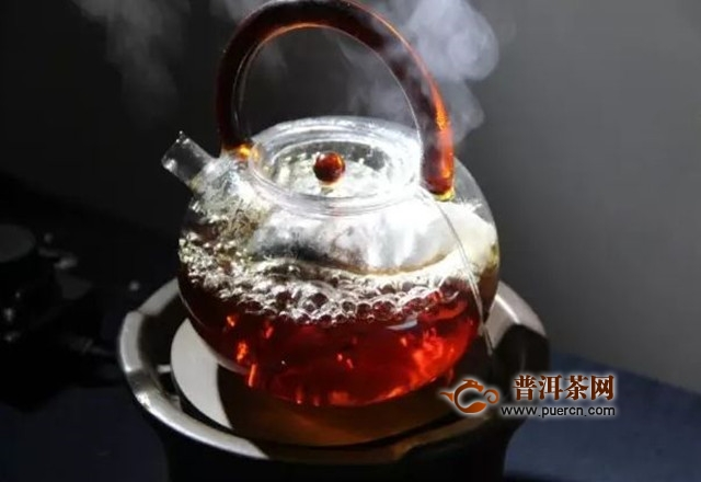 正确煮老白茶的方法