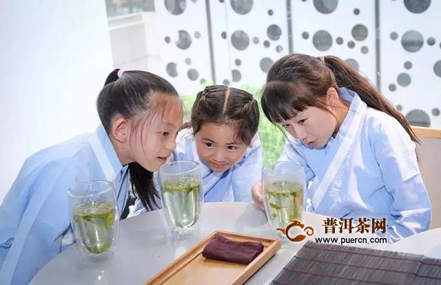 """大益""""少儿习茶热""""再升温:知茶识礼的孩子离幸福更近"""
