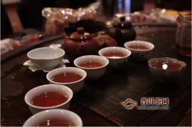 安化黑茶晚上喝能减肥图片