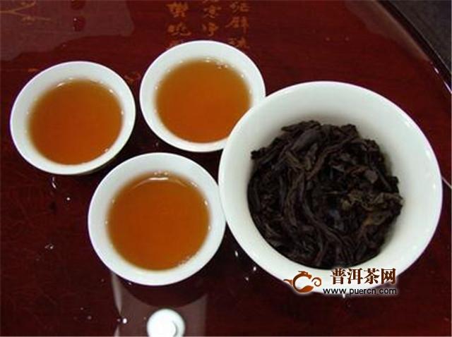 四点分辨,大红袍茶叶好坏