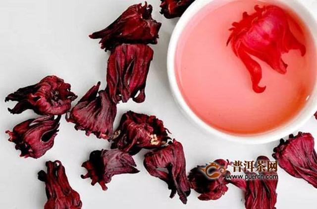 玫瑰茄花茶