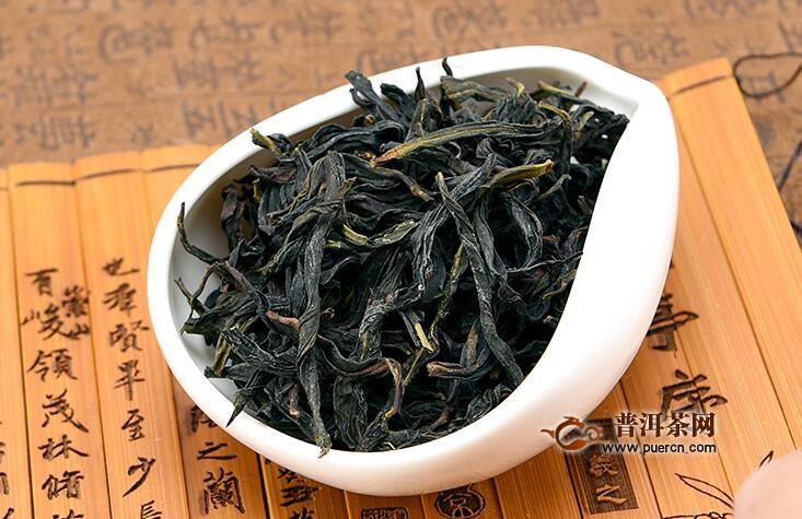 岩茶的制作工艺