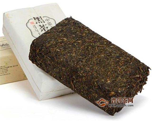 如何将毛茶加工成茯砖茶?