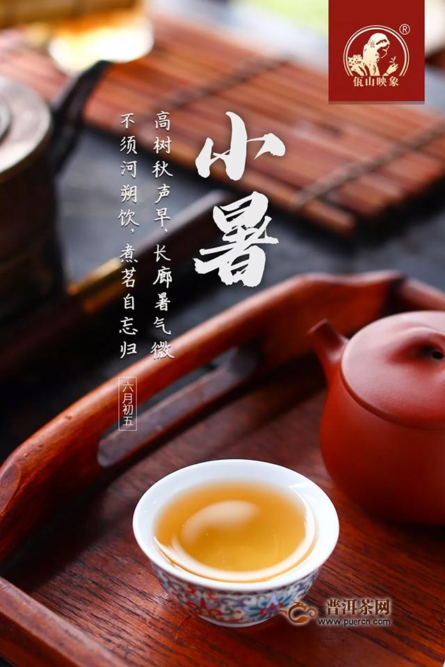 节气饮茶,温风至暑气盛