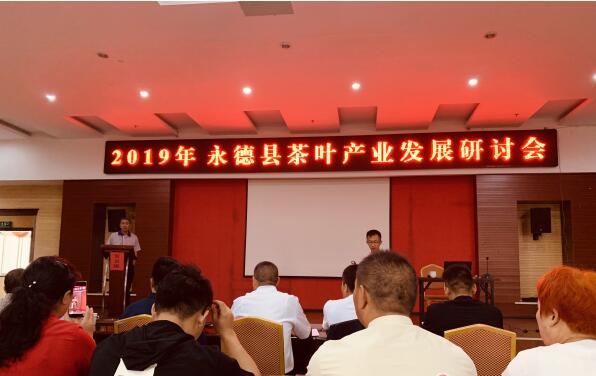 2019年永德县茶叶产业发展研讨会