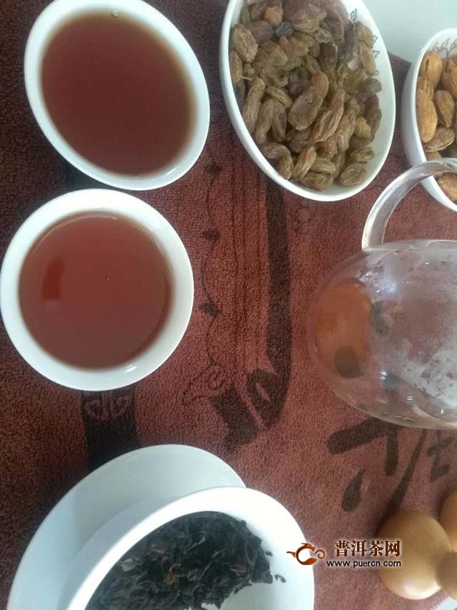 2018年润元昌 勐海好韵 熟茶 试用评测报告