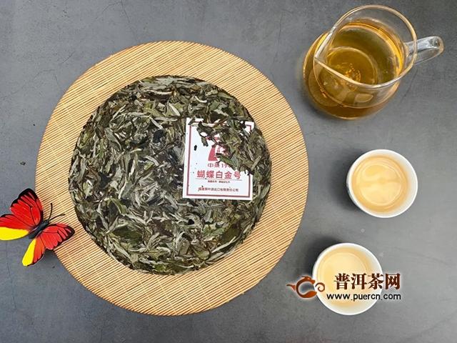 中茶2019年白茶蝴蝶白金号上市!
