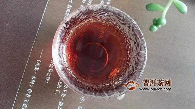 2018年天弘易武宫廷熟茶400克评测报告