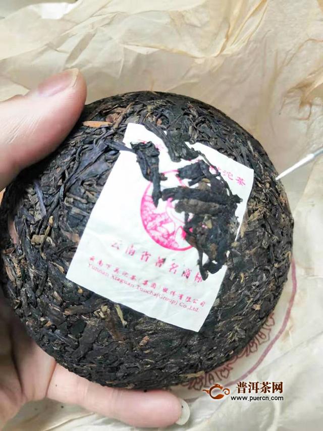 2012下关生态老树沱茶试饮报告