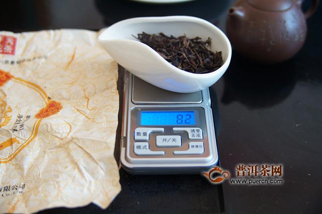 下关茶中的布朗味,2019年下关沱茶南诏御沱生茶试用评测报告