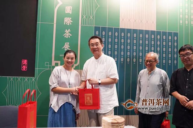 香港茶展,这家普洱茶老字号用老滋味打动港民
