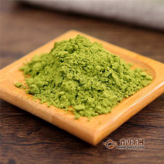喝绿茶粉的功效与作用,能消炎抗过敏!