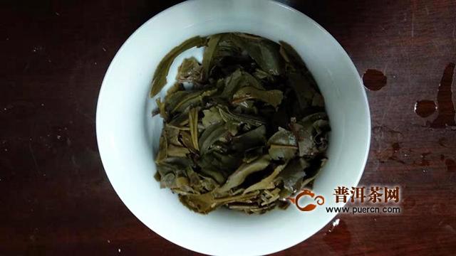 2007年中茶景迈明前春芽生茶品鉴报告
