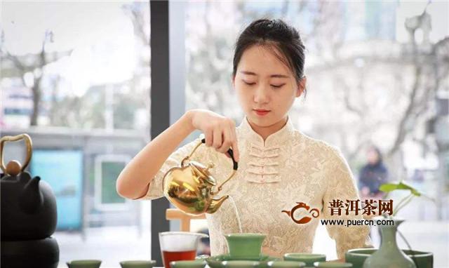 冲泡西湖龙井的茶程式,