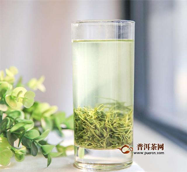 玻璃杯冲泡绿茶流程