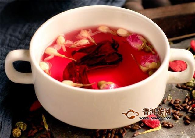 洛神花茶和玫瑰花茶