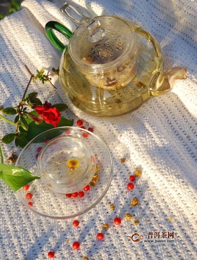 菊花茶种类及功效