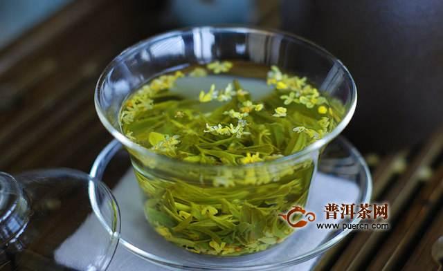 桂花龙井茶的功效与作用