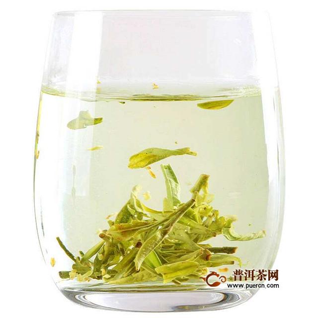 桂花龙井茶的益处,