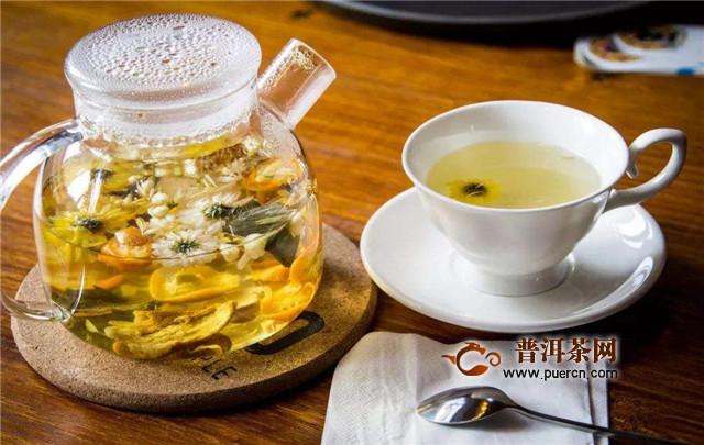 女人喝菊花茶有什么好处?女人喝菊花茶的7大功效!